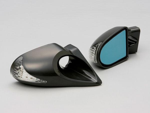 GTミラー K6 LED付 手動 トヨタ 専用フィッティング付き